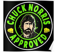 Chuck Norris Approved I. Poster