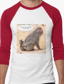 Monkey Buisness Men's Baseball ¾ T-Shirt