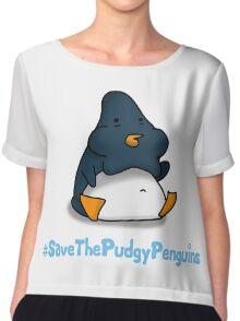Pudgy Penguin Chiffon Top