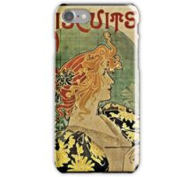 Biscuits and Chocolat Delacre iPhone Case/Skin