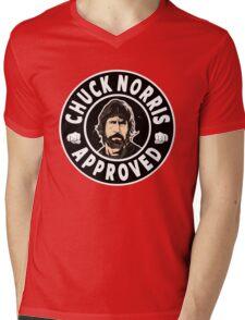 Chuck Norris Approved II. Mens V-Neck T-Shirt