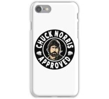 Chuck Norris Approved II. iPhone Case/Skin