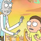 Rick and Morty - Poster by dedesec