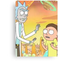 Rick and Morty - Poster Canvas Print