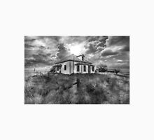 House on the Prairies - BW Unisex T-Shirt