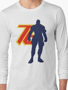 Soldier 76 Minimalist Long Sleeve T-Shirt