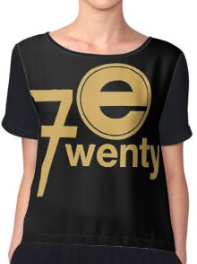 Entertainment 720 Chiffon Top