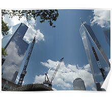 1 World Trade Center, 4 World Trade Center, Lower Manhattan, New York City  Poster