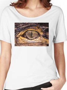 American Alligator, closer & in color Women's Relaxed Fit T-Shirt