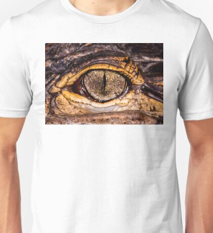 American Alligator, closer & in color Unisex T-Shirt