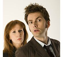 The Doctor and Donna Photographic Print