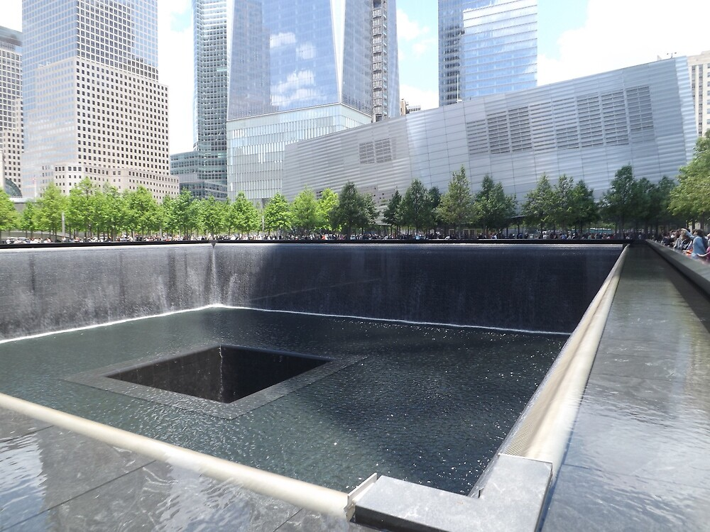 9/11 Memorial, 9/11 Museum, Lower Manhattan, New York City  by lenspiro