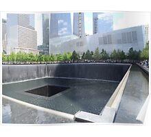 9/11 Memorial, 9/11 Museum, Lower Manhattan, New York City  Poster