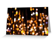 Shimmering Yellow Greeting Card