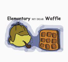 Elemontary my dear Waffle by Annalisa Huie