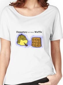 Elemontary my dear Waffle Women's Relaxed Fit T-Shirt