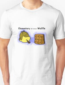 Elemontary my dear Waffle T-Shirt