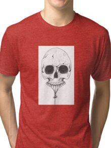 Skull Balloon Tri-blend T-Shirt