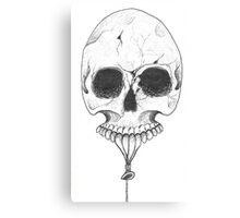 Skull Balloon Canvas Print