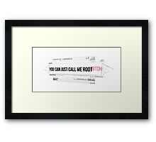 Person Of Interest Quotes [11] Framed Print