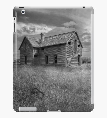 Out Back - BW iPad Case/Skin