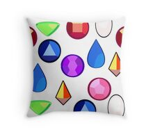 Steven Universe Gems Throw Pillow