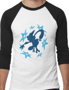 Greninja Shurikens Men's Baseball ¾ T-Shirt