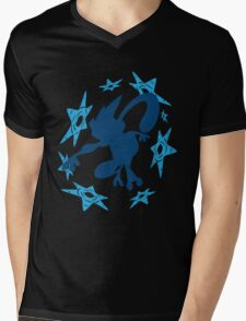 Greninja Shurikens Mens V-Neck T-Shirt