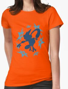 Greninja Shurikens Womens Fitted T-Shirt
