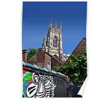 The Minster seen through the Evil Eye Poster