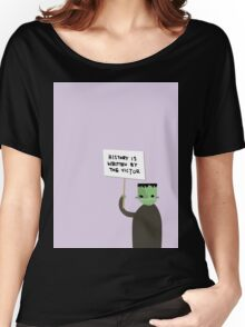History is Written by the Victor Frankenstein Women's Relaxed Fit T-Shirt