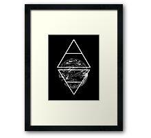Air&Earth (AV) Earth planet Framed Print