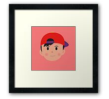 Clay Ness Head Framed Print