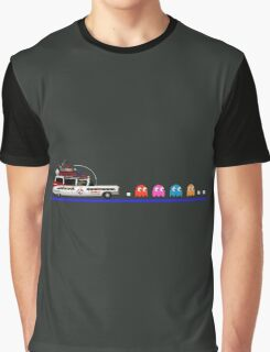 Ghostbusters meets Pac-Man Graphic T-Shirt