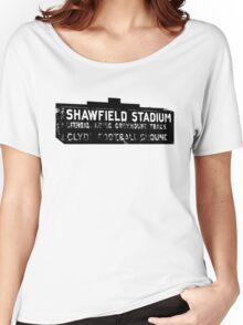Shawfield Stadium, Glasgow tshirt Women's Relaxed Fit T-Shirt