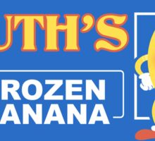 Frozen Banana Logo Sticker