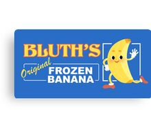 Frozen Banana Logo Canvas Print
