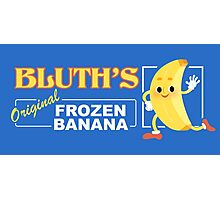 Frozen Banana Logo Photographic Print