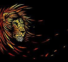 Lion's Brightness by Nicolas MAUREL Art