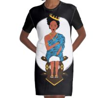 Wear Your Crown Graphic T-Shirt Dress