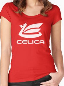 Celica Dragon Women's Fitted Scoop T-Shirt