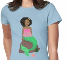 A Moment of Peace Womens Fitted T-Shirt