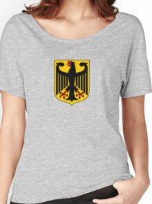 German Coat of Arms - Olympic Symbol Women's Relaxed Fit T-Shirt