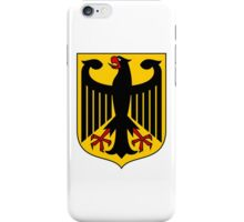 German Coat of Arms - Olympic Symbol iPhone Case/Skin