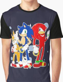 sonic runners Graphic T-Shirt