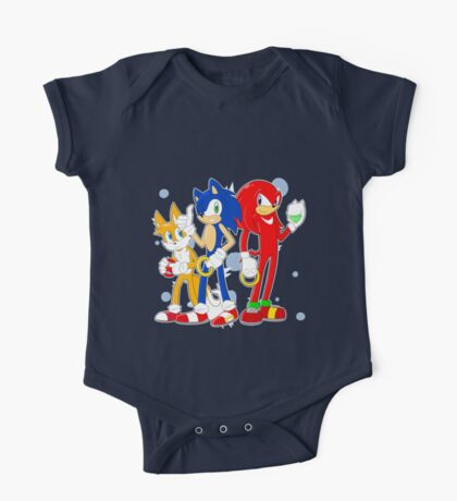 sonic runners One Piece - Short Sleeve