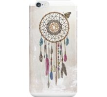 Colorful dream catcher art iPhone Case/Skin