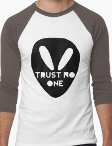 Alien- Trust No One Men's Baseball ¾ T-Shirt