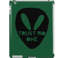 Alien- Trust No One iPad Case/Skin