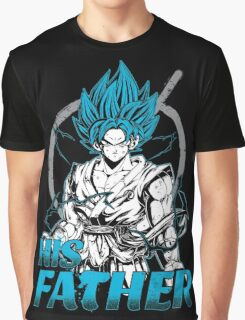 Super Saiyan Goku God Dad Shirt - RB00486 Graphic T-Shirt